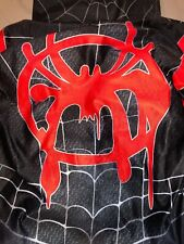 Spiderman Into the Superhero Costume Adult Miles Morales Cosplay Size Small