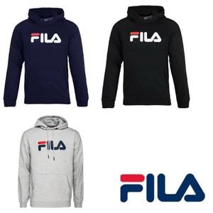 Fila hoodie mens overhead pullover hoody jumper unisex 3 colours