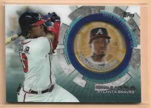 2020 Topps Update Ronald Acuna Jr Coin Relic Atlanta Braves