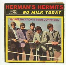 "HERMAN'S HERMITS : No Milk Today - 7"" ITALY 1966"