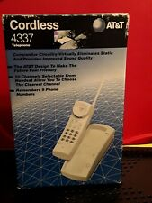 At&T 4337 Cordless Telephone - New/Open Box - Vintage 1995 Never Used Mint!