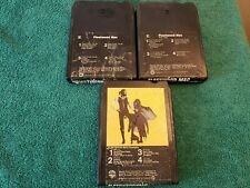Fleetwood Mac- Lot of three 8-Track Tapes