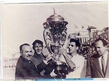 Futbol Trofeo Teresa Herrera ganado por el Sevilla F.C. en 1954 (DH-916)