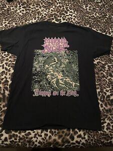 Ultra Rare MORBID ANGEL shirt Gorguts Pestilence Bolt Thrower Suffocation Death