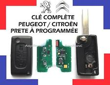 LLAVE COMPLETA PROGRAMAR 3 Botones para PEUGEOT 207, 407, 307 ENVIADO 48H