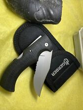 Gerber Portland Or. USA Knofe With Case