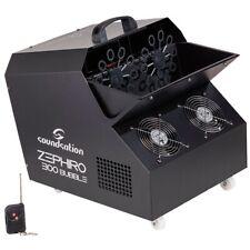 Soundsation Zephiro 300 Bubble Macchina Bolle sparabolle 300 W con Radiocomando