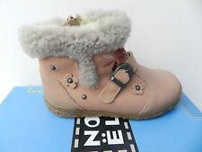 Noel Astor Chaussures Bébé Fille 26 Première Bottes Fourrées Laine UK8 Boot Neuf