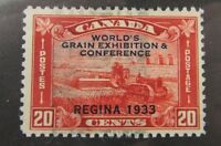 1933 Canada SC #203 WORLD'S GRAIN EXHIBITION & CONFERENCE used F-VF stamp