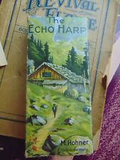 The Echo Harp Harmonica made German Folk Sons  plus 18 books learning to play
