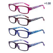 Bisagra del resorte eyeguard Gafas De Lectura Elegante lectores de moda para mujer 4 pares/paquete