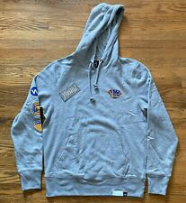 DIAMOND SUPPLY CO 47 BRAND GREY HOODIE NBA BASKETBALL GOLDEN STATE WARRIORS SZ M