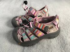 KEEN Youth Sz US 10 Multi-color Water Shoes Sandals SC8