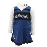 Indianapolis Colts NFL Infant Toddler 2-Piece Cheerleader Outfit New with Tags