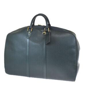 Auth LOUIS VUITTON Helanga 1 Poche Garment Hand Bag Taiga Leather M30104 73MG613