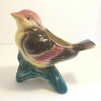 Vintage Royal Copley Ceramic Bird Planter #39