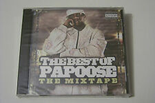 THE BEST OF PAPOOSE - THE MIXTAPE CD 2006 (Razah Mobb Deep Paul Wall Bun B) OVP