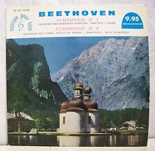 """33T BEETHOVEN Disque LP 12"""" SYMPHONIE N°5 et 8 AUTRICHE EMMER VIIENNE SWAROWSKY"""