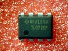 TL072 Dual Low Noise JFET Input OP AMP - 10 pc lots