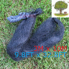 3 x 10m Mesh Anti Bird Mist Net Agricultural Orchard Protect Prevent Bird Damage