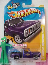 2012 #34 NM Hot Wheels '78 DODGE LI'L RED EXPRESS PICKUP truck 1978 Scan❊PURPLE❊