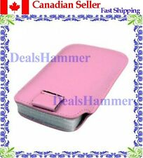 Leather Case For IPHONE 3G / 3GS / 4G 4 4S  PINK SHIP FROM CANADA