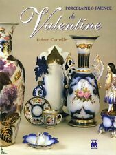 Porcelain and faience from Valentine, French book