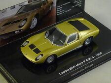 MINICHAMPS 436103000 - LAMBORGHINI MIURA S 1969 or  1/43
