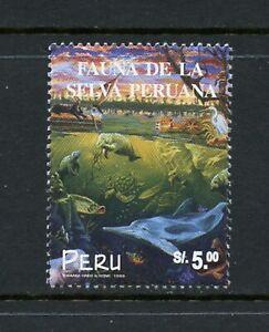 Y456 Pérou 1999 Faune Poisson Pluie Forêt 1v. MNH