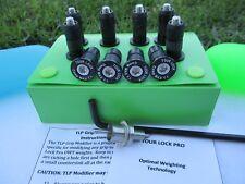 Tour Lock Pro 10pc Counter Balance Wt.(BLACK-12g)Iron set/Wedge w/Tools/Manual