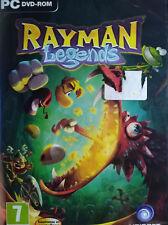RAYMAN LEGENDS. JUEGO PARA PC. PAL-ESP. NUEVO, PRECINTADO.