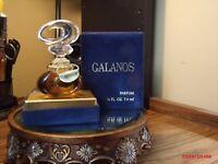 Galanos Parfum 1/4 fl. oz./7.4 ml  Pure Perfume Figural Bottle Rare - New in Box