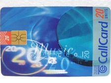 SCHEDA TELEFONICA IRLANDA-Call Card-Valore 20 units-TELECOM EIREANN