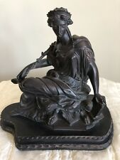 Statue of Lady~Bronze Color!!  BEAUTIFUL!!