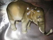 Marken Porzellan Elefant - Elephant sehr schön ca. 1960 - Marken Porzellanfigur