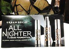 URBAN DECAY All Nighter Liquid Foundation 4 Pod Sample Card 0.03 fl oz/1 ml each
