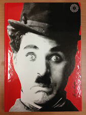 CHARLIE CHAPLIN - A4 Journal Diary Notebook - red