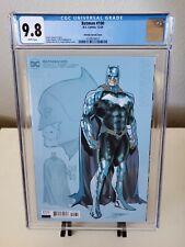 Batman #100 Jorge Jimenez Design 1:25 Variant CGC 9.8