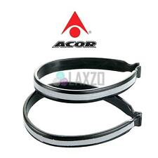 Acor Bike Bicycle Reflective Hi-Viz Trouser Bands Saftey Clips