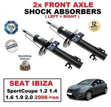 2x Amortiguadores delanteros para SEAT IBIZA Sportcoupé 1.2 1.4 1.6 1.9 2.0