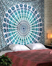 2 Pcs Mandala Tapestry Wall Hanging Throw Bedding Cotton Twin Wholesale Lot