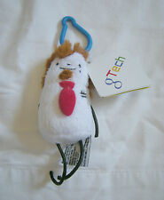 G Tech Google Technician Micro Office Boy Squishy Toy Plush Clip On Ornament