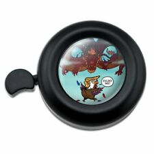 Trump Trade War with China Red Dragon Eagle Chicken Bicycle Handlebar Bike Bell