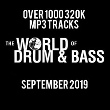 Drum & Bass September 2019 Collection: Over 1000 320K MP3 Tracks