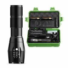 RECHOO LED Torch Rechargeable, 2000 Lumen Super Bright Torch