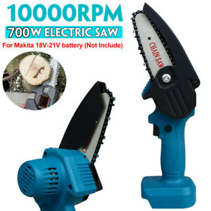 18V Cordless Electric Wood Cutting Cutter Saw Chainsaw For Makita 18V Battery