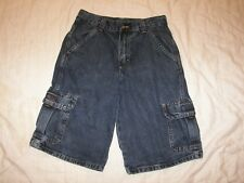 Boys Wrangler Denim Cargo Shorts - 14 Reg