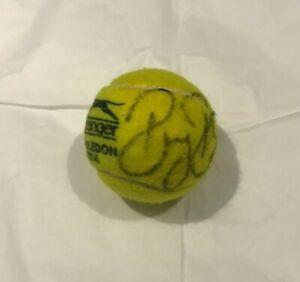 Roger Federer Signed Wimbledon Tennis Ball with COA