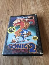 Sonic The Hedgehog 2 Sega Genesis Cib Complete Works - SG1