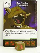 Yu-Gi-Oh Dice Masters - #056 Man-Eater Bug - Insatiable Appetite - Base Set